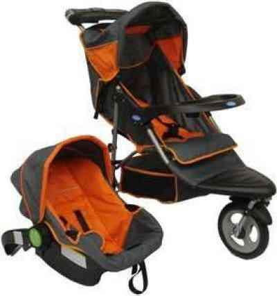 Coche infanti con silla nido para el auto quillota for Silla de auto infanti