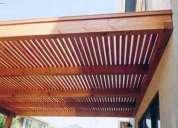 Pergolas chile compra venta for Cobertizos metalicos