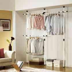 Ropero armario closet perchero unico en chile for Ganchos metalicos para percheros