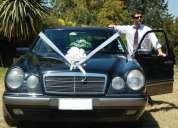 Autos para matrimonios, bodas, novios, mercedes benz de lujo clásicos y nuevos  con chofer