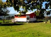 Arriendo cabaña ubicada hermoso sector en parcela para turistas