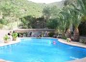 arriendo parcela con piscina para asado familiar matrimonio