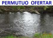Yumbel 20.000m2 ( 2 hectarias) con rio ( permutuo ofertar )