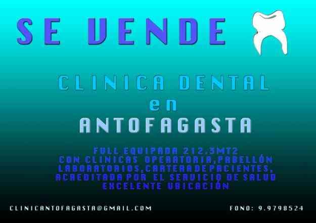 VENDO CLINICA DENTAL ANTOFAGASTA