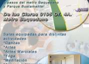 Arriendo Salas de Clase Metro Sana Lucía