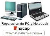 Reparación de notebook - computadores - mantenciones - redes