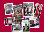 Globos cumpleaños,globos fiestas,decoracion de fiestas con globos