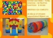 Arriendo juegos inflables cama elasticas dia completo promocion 2 juegos por solo $50.000!