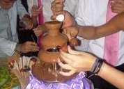 Se arrienda cascada de chocolate en quilpuÉ.