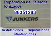 Reparaciones de calefont junkers ionizados