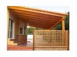 Fabricaci n de cobertizos y pergolas quinchos santiago for Cobertizo de madera para terraza