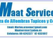 Experiencia limpieza de alfombras tapices cortinas 9-6242377 * 7-8331017