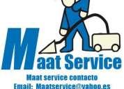 Lavado de alfombras aspirado y tratamiento de inundaciones