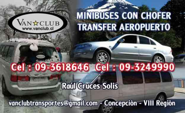 MINIBUSES CON CHOFER