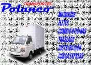 Mudanzas transportes fletes polanco cargo express 87232505