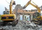 Demoliciones de cualquier tamano ,casas galpones ,edificios
