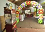 Cumpleaños infantiles todos los fines de semana  rancho eventos, 3 salones pura diversión