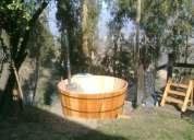 Spa, saunas y tinas de madera ( hub tubs)