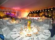 Banqueteria fina en matrimonios , fotografia , iluminacion, dj , decoracion