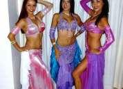 Bailarinas danza arabe - odaliscas para eventos familiares y empresariales