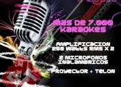 El mejor karaoke donde quieras!