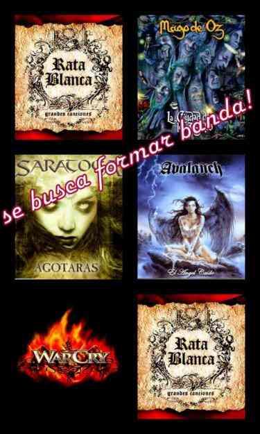 se busca bajista para banda heavy metal español