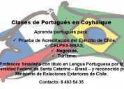 Clases de portugués en coyhaique
