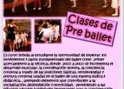 Clases de pre ballet en concepcion