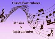 Clases mÚsica & instrumentos musicales