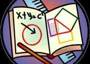 Clases de algebra, calculo, estadistica, econometria, microeconomia