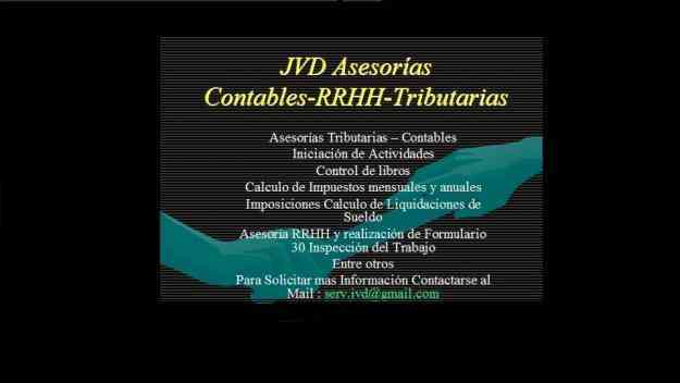 Asesorias Contable, Tributarias, RRHH, Softland
