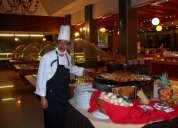Chef egipcio nacionalidad chilena, administrador de hoteles, restaurante de lujo busco tra