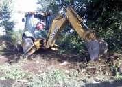 Operador retroexcavadora y excavadora