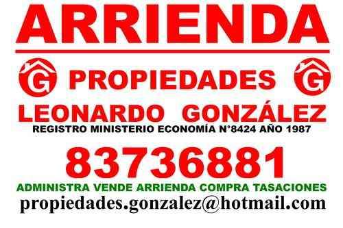 VILLA ALEMANA ARRIENDO CASA $155.000.- PROPIEDADES.GONZALEZ
