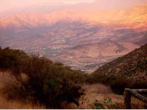 Vendo Terreno en Reserva de Chicureo, Vista hacia la Cordillera