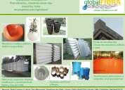 Productos en fibra de vidrio