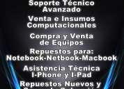 Servicio tecnico notebook, macbook, netbook, mac, pc