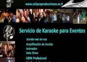 Servicio de karaoke, cumpleaños, fiestas