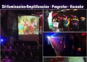 Karaoke para tus fiestas - dj - iluminacion y mucho mas