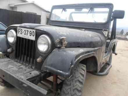 jeep willys año 60 de coleccion