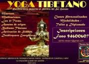 Curso taller yoga tibetano