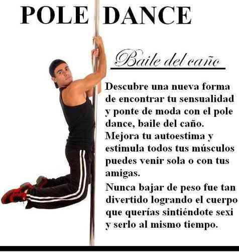 CLASES DE POLE DANCE JUNTO A TUS AMIGAS Y PORFESOR BETO