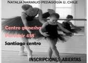 Clases de ballet infantil  santiago centro