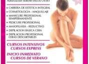 Estetica y cosmetologia  integral cursos