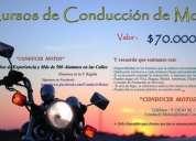 Cursos de motos v región conducir motos