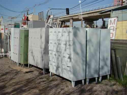 Fotos de casilleros lockers usados reacondicionados for Muebles usados santiago