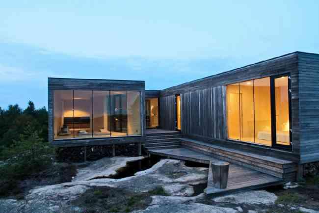 Casas prefabricadas tipo container la florida for Modern house design norway