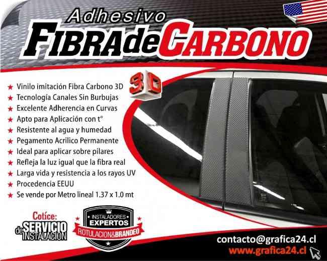 AUTOADHESIVO DE FIBRA DE CARBONO PARA AUTOS