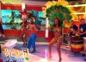 Batucada en vivo con brasil show para eventos