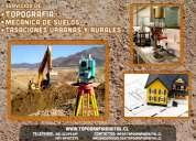 Topografía & mecánica de suelos